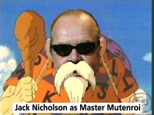 Jack Nicholson como el Maestro Tortuga