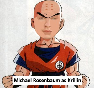 Michael Rosenbaum como Krillin