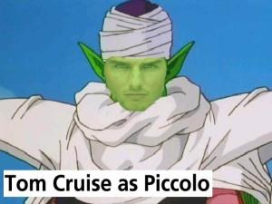 Tom cruise como Piccolo